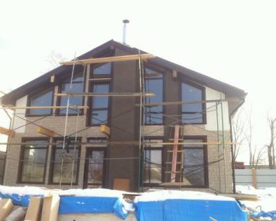 Строительство дома из СИП панелей в г. Владивосток по типовому проекту ГРАТИОН