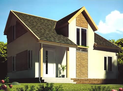 Проект дома из СИП панелей СТАЙЛ