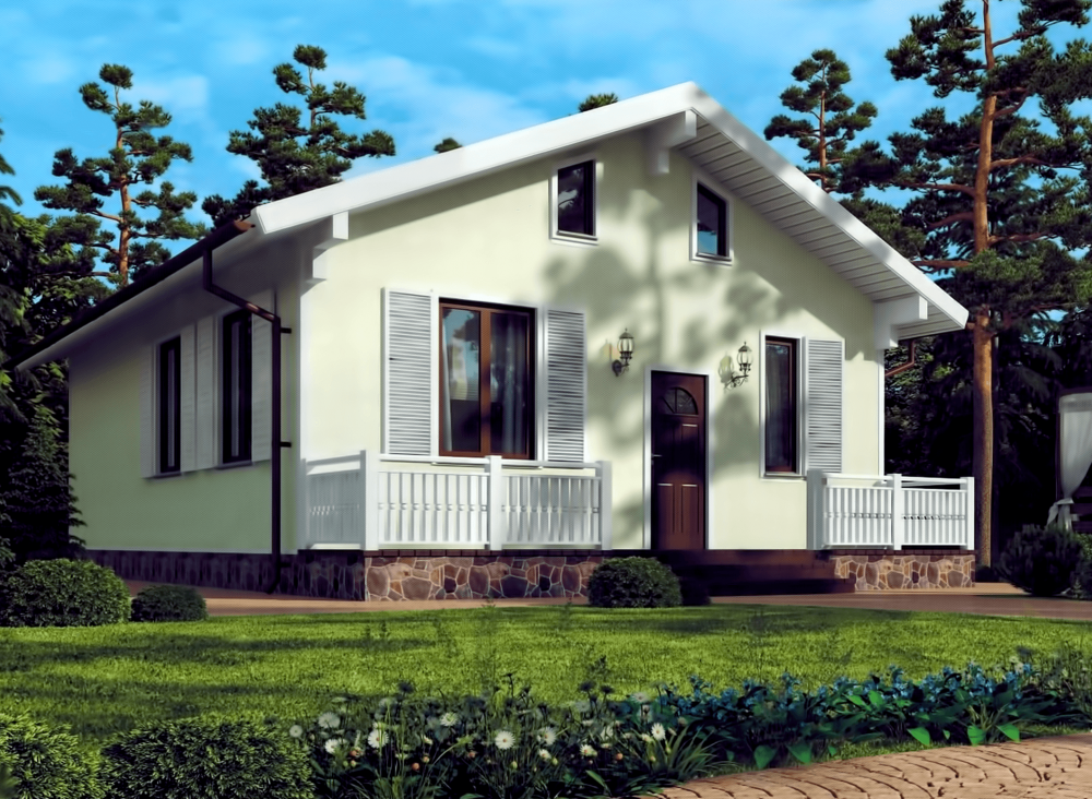 Проект каркасного дома РЕЙН