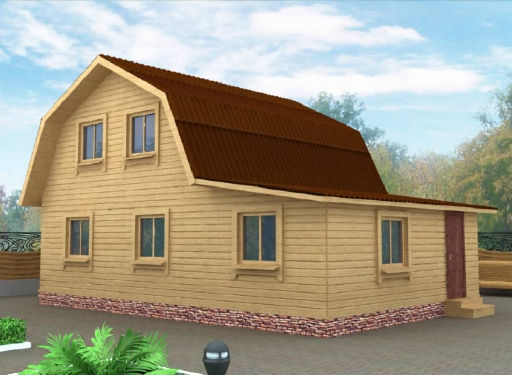 Дачный дом 6х9