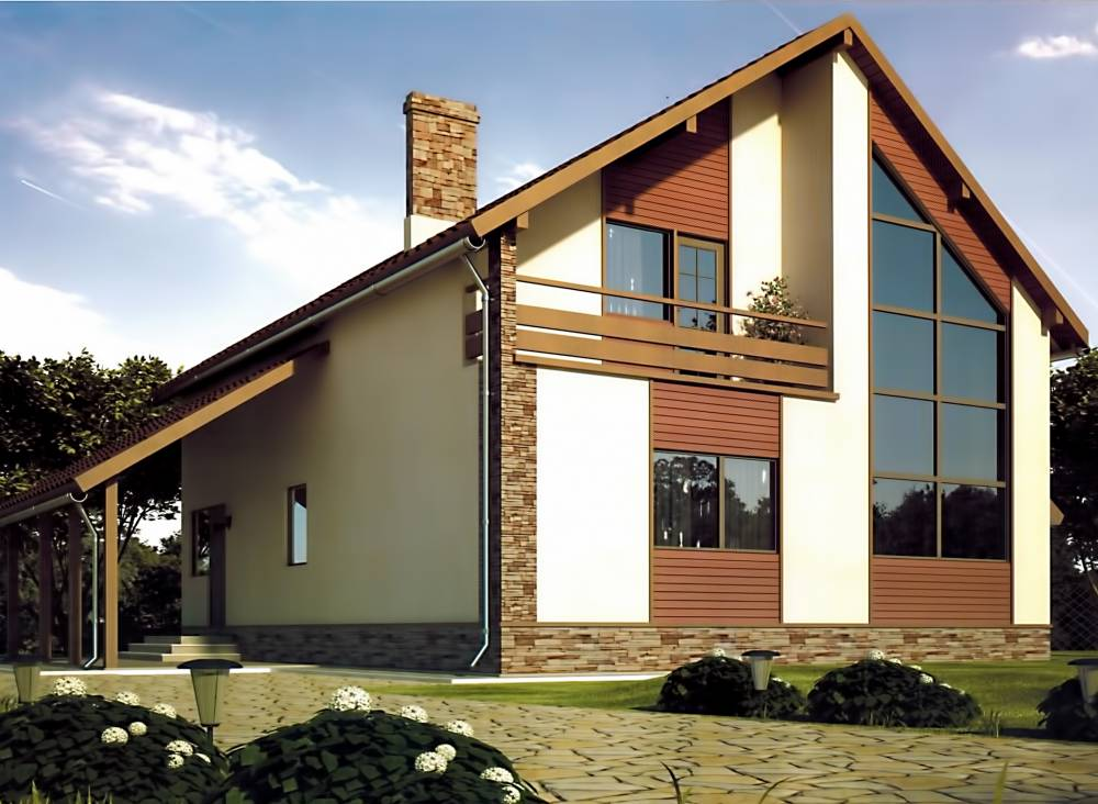Проект дома из СИП панелей ПРАЙМ