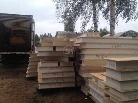 Доставка и разгрузка комплекта СИП /SIP панелей для строительства бани