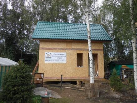 Баня из СИП панелей 46 м2 в г. Сосновый Бор