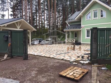 Строительство каркасного навеса п.Вырица Ленинградская область
